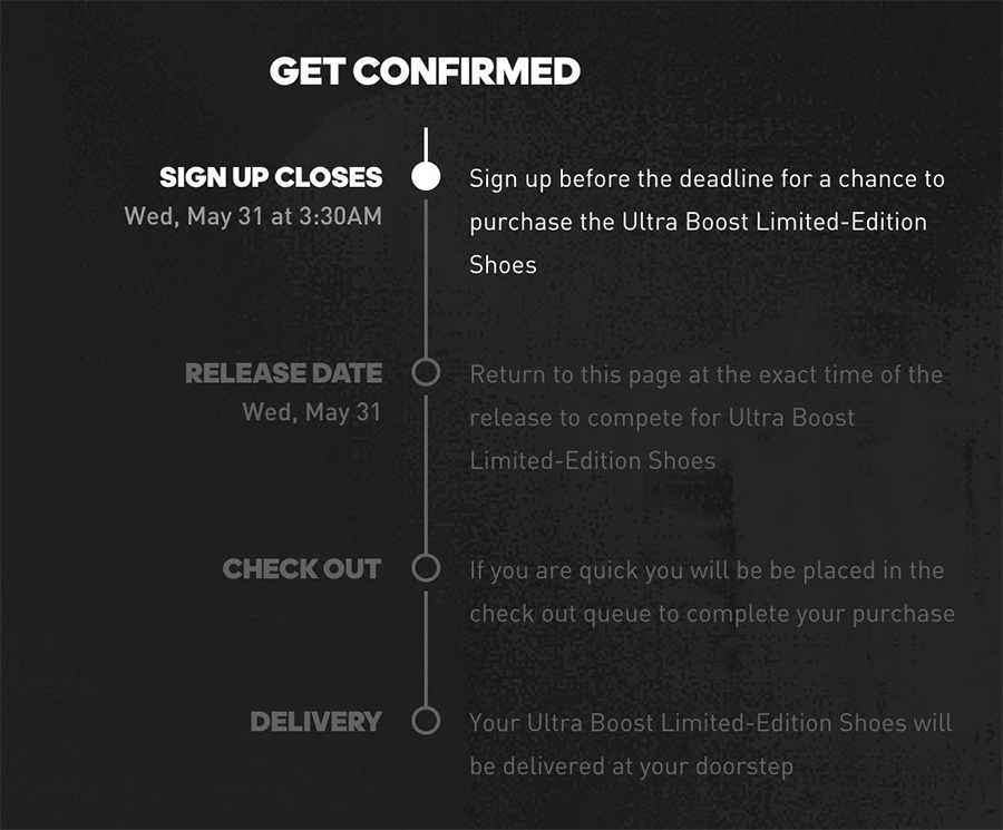 Confirmed,adidas  网页版 adidas Confirmed 隐含重大变动,跟你我有关!