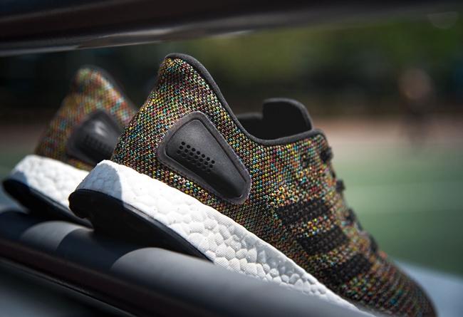 adidas,Pure Boost DPR,Multicol  多彩编织!全新 adidas Pure Boost DPR 现已发售