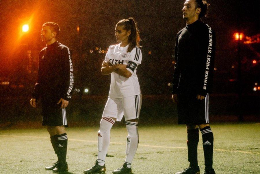 KITH,adidas Soccer  暗黑与淡粉的碰撞!全新 KITH x adidas Soccer 值得期待