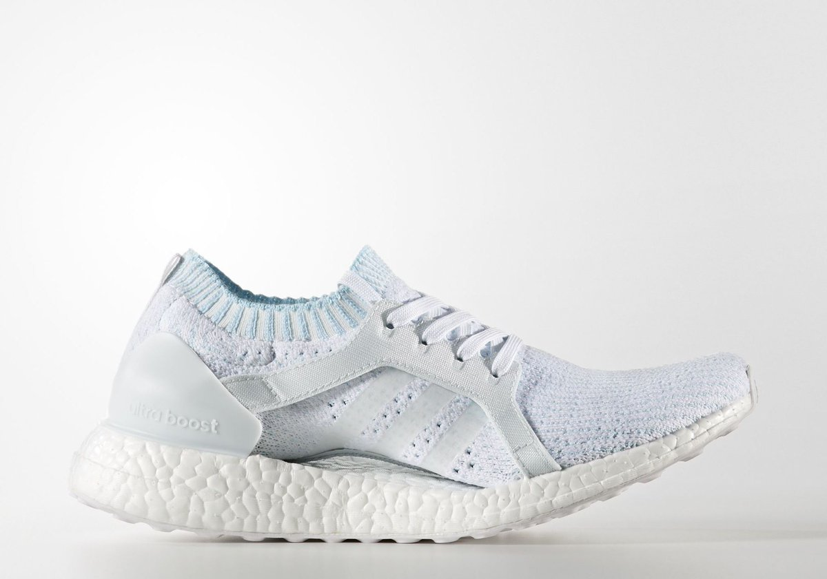 adidas,Parley for the Oceans,U  清爽白蓝配色!adidas 海洋联名再次公布全新配色!