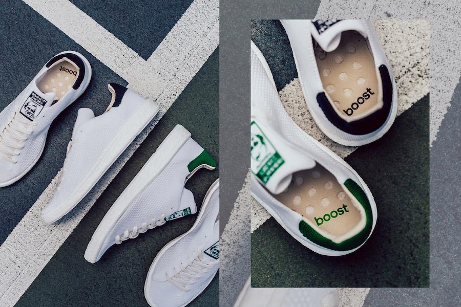 adidas,Stan Smith Primeknit Bo  经典小白鞋全面升级!柔软透气值得一提!