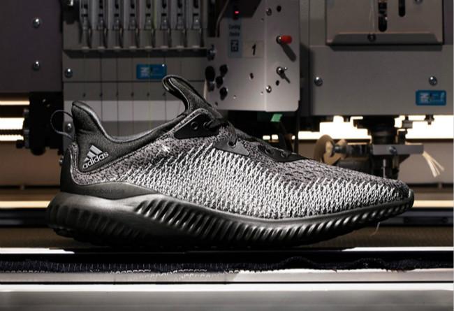 adidas,AlphaBounce ForgeFiber  全新编织鞋面!黑白配色 AlphaBounce ForgeFiber 下周发售!