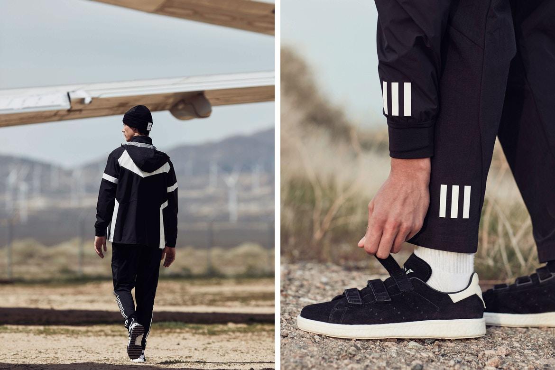 adidas  White Mountaineering x adidas Originals 2017 秋冬新品发布