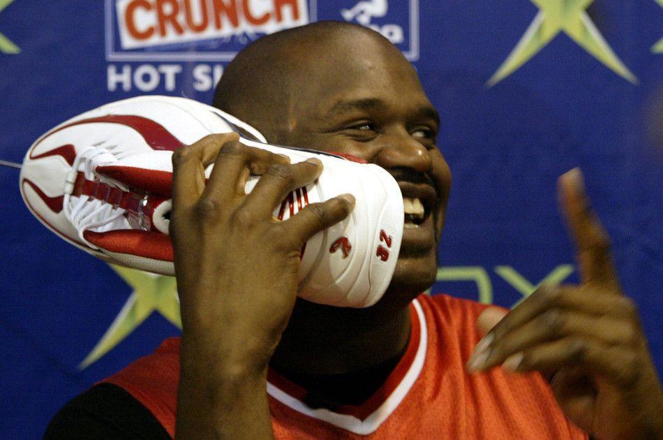 SHAQ,PUMA,nike,Air Jordan  捧在手里竟忘记穿,这几双球鞋都有一个共同点!