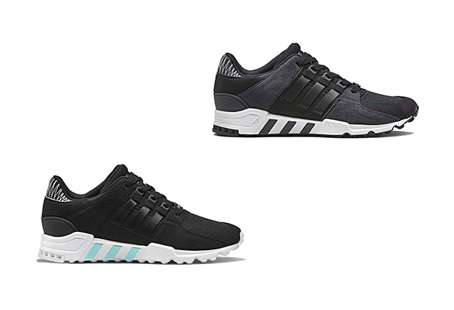 adidas,EQT Support RF  复古风浓郁!男女两款 EQT Support RF 月底发售