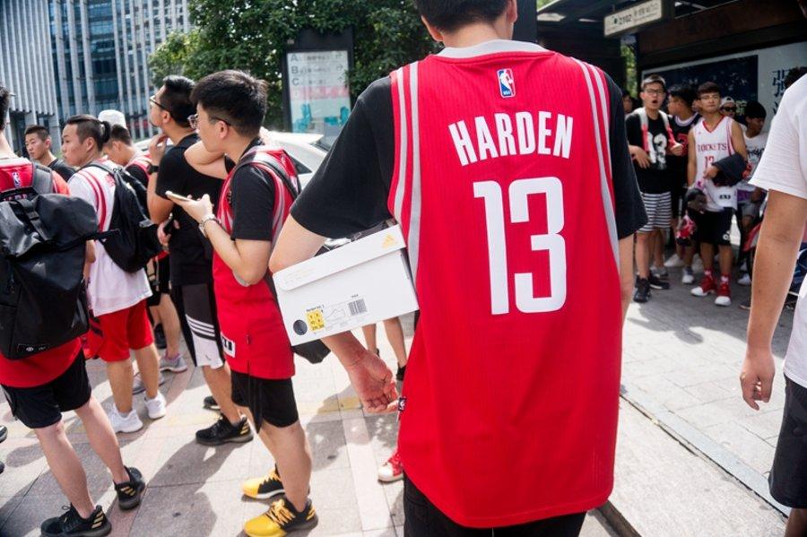 """Harden,adidas  你将有机会获得亲签球衣!哈登 """"创异觉醒"""" 杭州站回顾"""