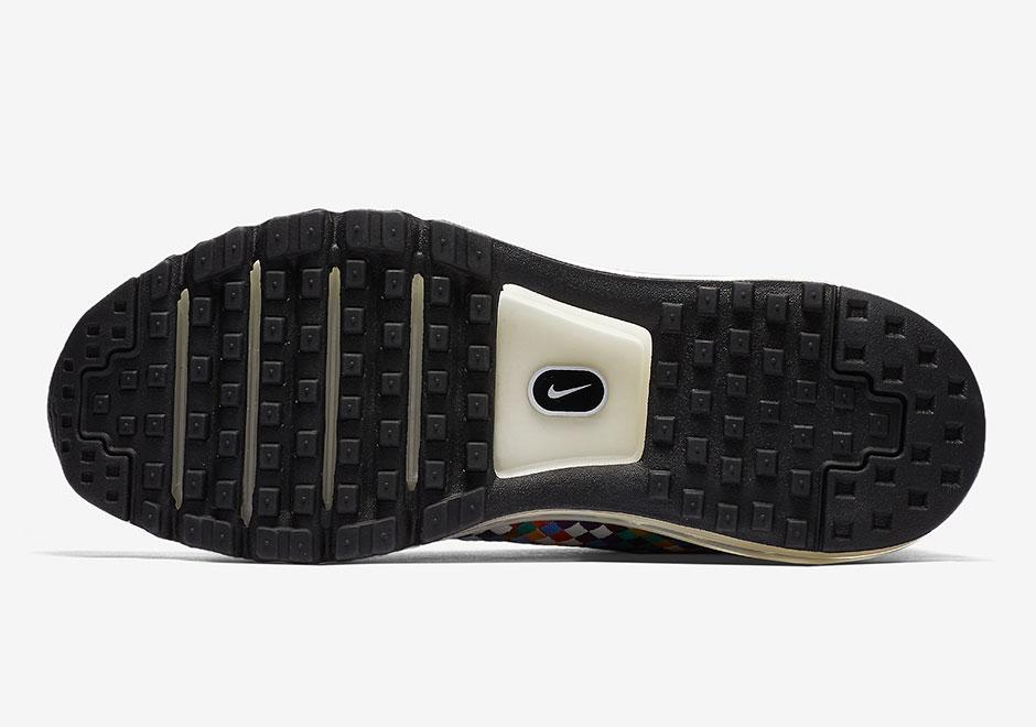 彩虹大气垫 Nike Air Max Woven Boot 即将绚丽登场