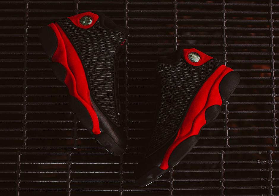 """黑红AJ13发售信息 Air Jordan 13 """"Bred"""" 值得入手的吗"""