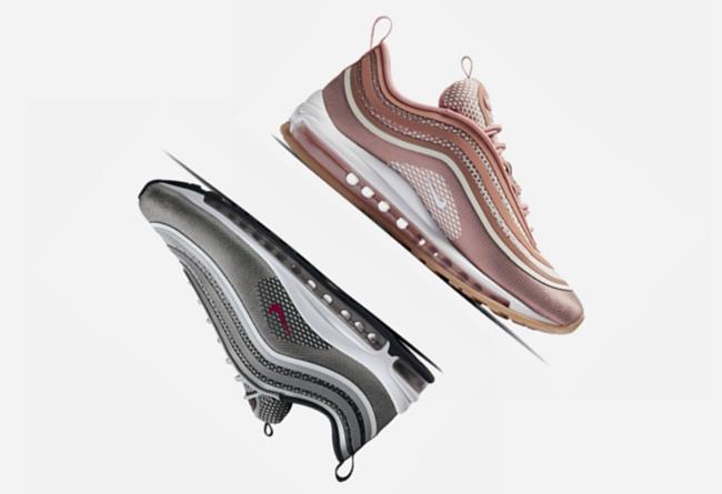 Nike,Air Max 97,Ultra  升级版透气鞋面!多款 Nike Air Max 97 Ultra 明日官网发售