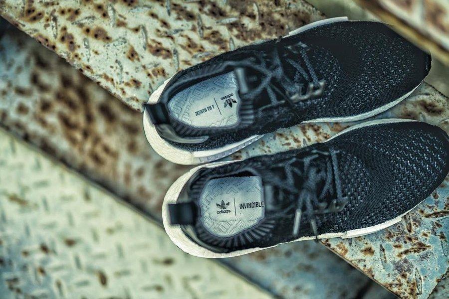 adidas,adidas Consortium,NMD R  厚重质感!adidas Consortium 推出三方联名 NMD R1