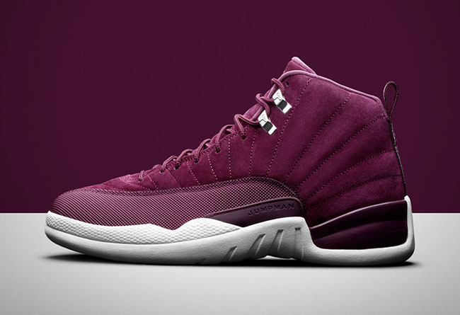 "Air Jordan 12,Bordeaux,AJ12,13  周六上架!酒红 Air Jordan 12 ""Bordeaux""​ 官网链接已出!"