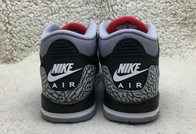 AJ3,Air Jordan 3,854262-001  黑水泥 Air Jordan 3 实物曝光!男女款同期发售!