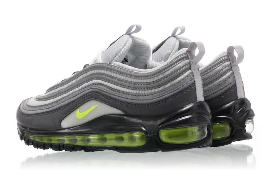 "Air Max 97,Neon,Nike  经典配色回归!Air Max 97 ""Neon"" 海外现已上架"