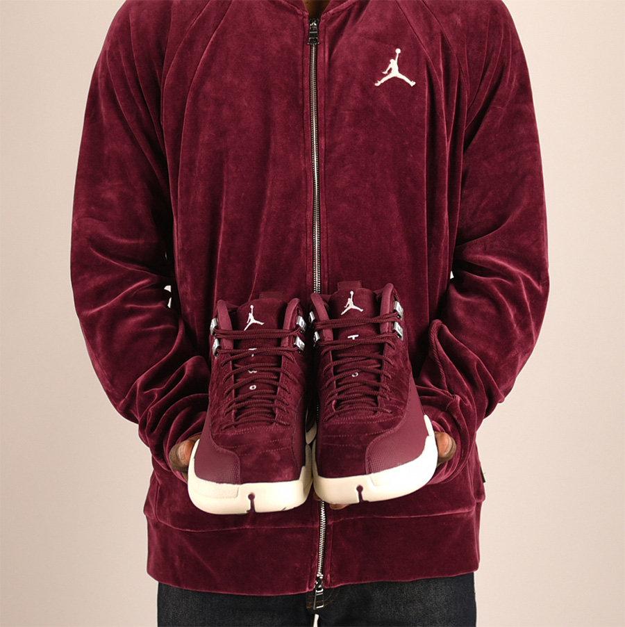 "130690-617,AJ12,Air Jordan 12 130690-617AJ12 上脚效果不俗!你买到酒红 Air Jordan 12 ""Bordeaux"" 了吗?"