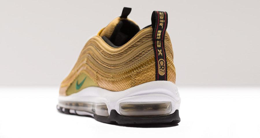 Nike,Air Max 97,AQ0655-700  暗藏感人细节!C 罗专属 Nike Air Max 97 即将发售!