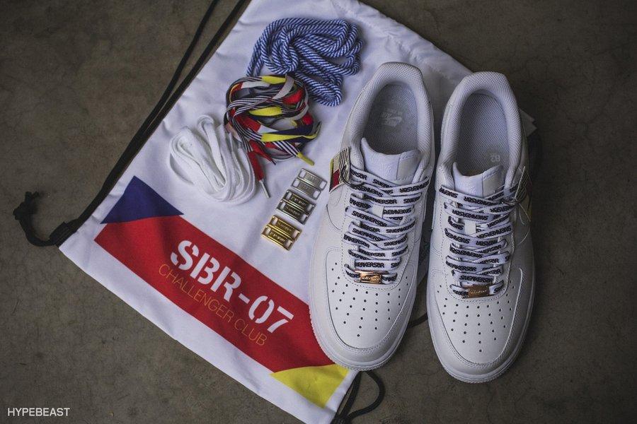 """challenger club"""" 字样彰显身份,最大的亮点在于全新可拆卸的鞋带拉链图片"""