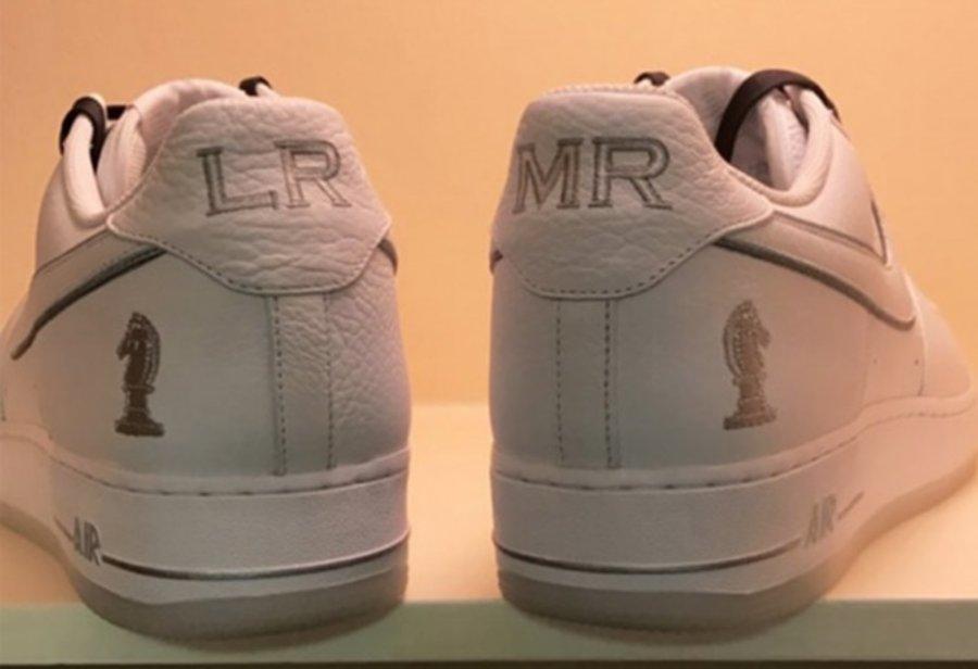 Nike,Air Force 1  兄弟情深!詹姆斯晒出 Air Force 1 PE 四骑士配色