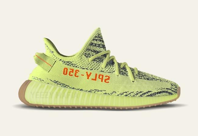 adidas,Yeezy Boost 350 V2  本周最重磅!荧光黄 Yeezy Boost 350 V2 周末登场