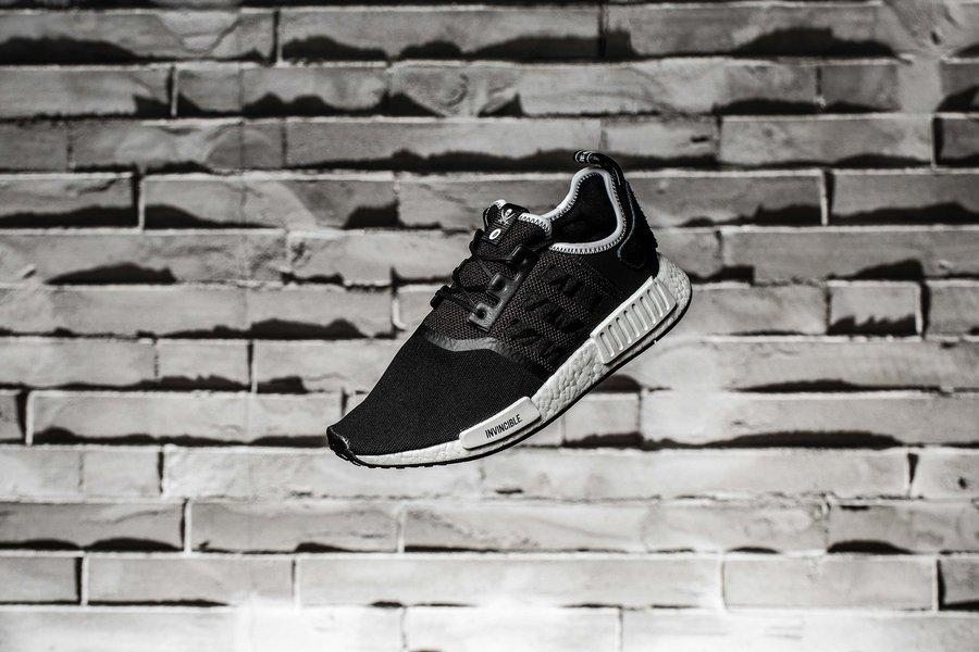 adidas,NMD R1  三方联名!这双 NBHD x NMD x Invincible 你喜欢吗?