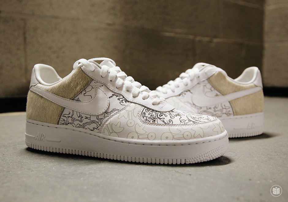 Nike,Air Force 1,YOTD,A09281-1  生肖主题巅峰之作!狗年 Air Force 1 PRM'18 实物曝光!