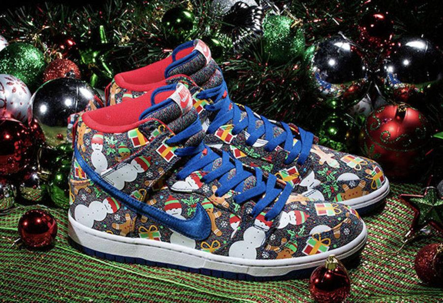 Concepts,Nike,Dunk SB,Ugly Swe  精美又趣味十足!圣诞联名 Concepts x Nike Dunk SB 下周发售!
