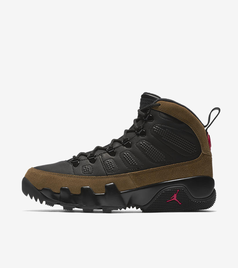 Air Jordan 9,AJ9,Boot  应对恶劣天气!两款 Air Jordan 9 Boot NRG 明早发售!
