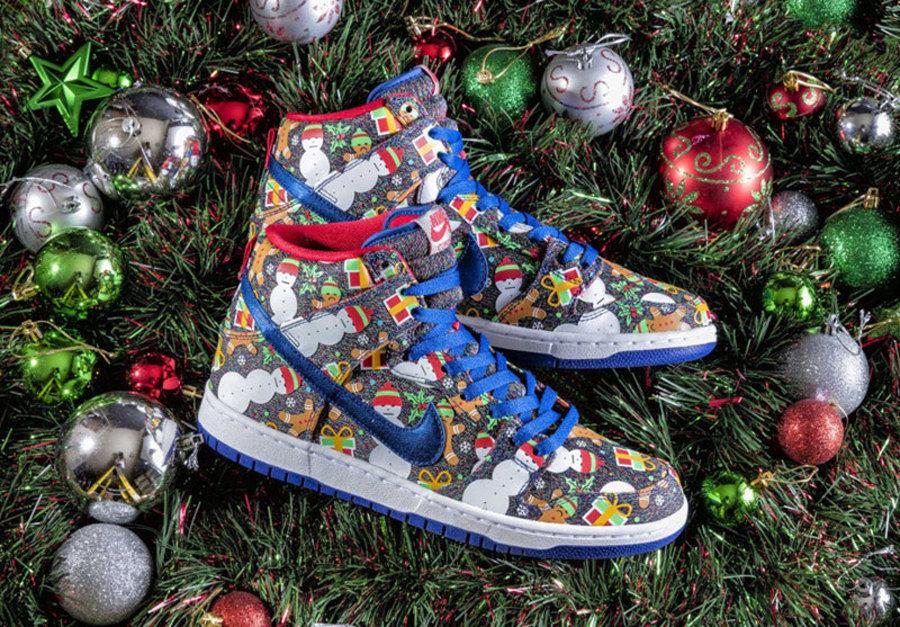 Nike,881758-446,Dunk SB,Concep  趣味十足!圣诞联名 Concepts x Dunk SB 明早发售!