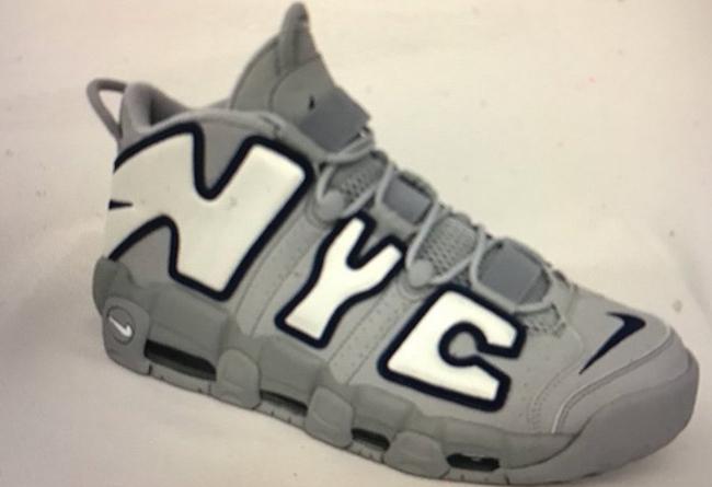 Nike,Air More Uptempo  城市主题!Air More Uptempo 纽约配色首次曝光