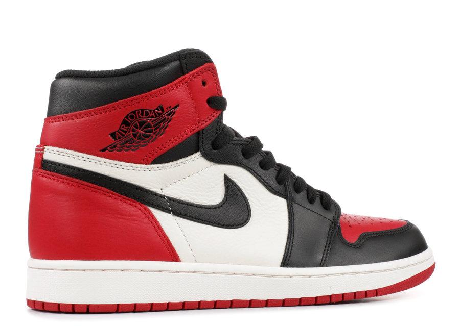 "AJ1,Air Jordan 1,555088-610  明年的 AJ1 ""Bred Toe"" 现在就想要?那你得花 00 美元!"