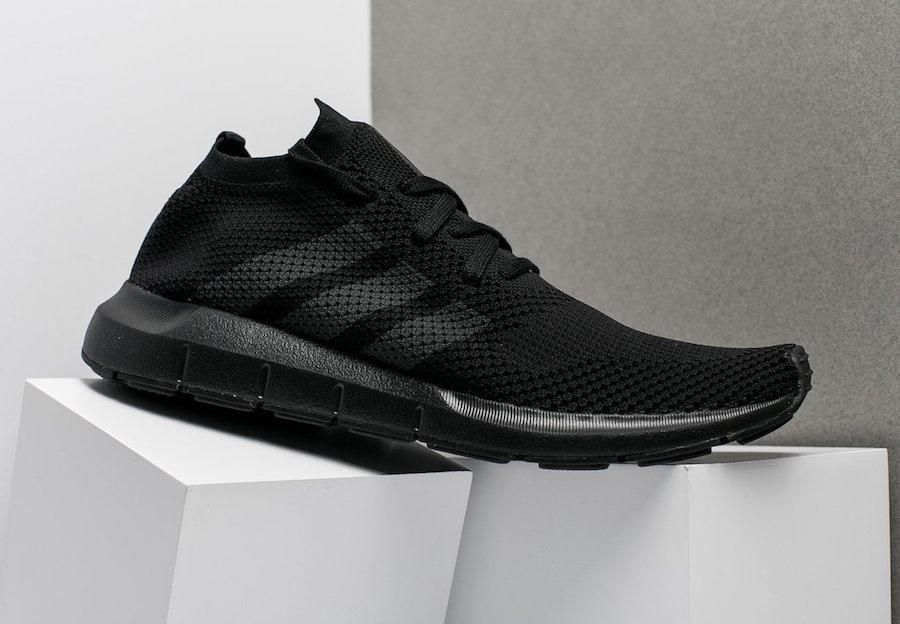adidas,Swift Run  纯黑纯白!adidas 推出的这两款编织复古跑鞋怎么样?