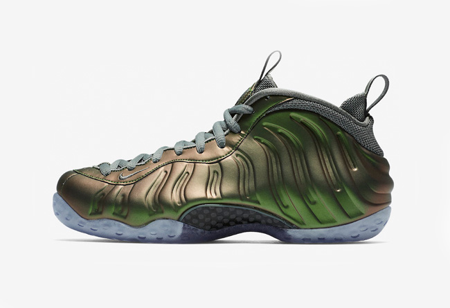 Nike,Air Foamposite One,AA3963  炫光绿!全新配色 Air Foamposite One 下周发售!