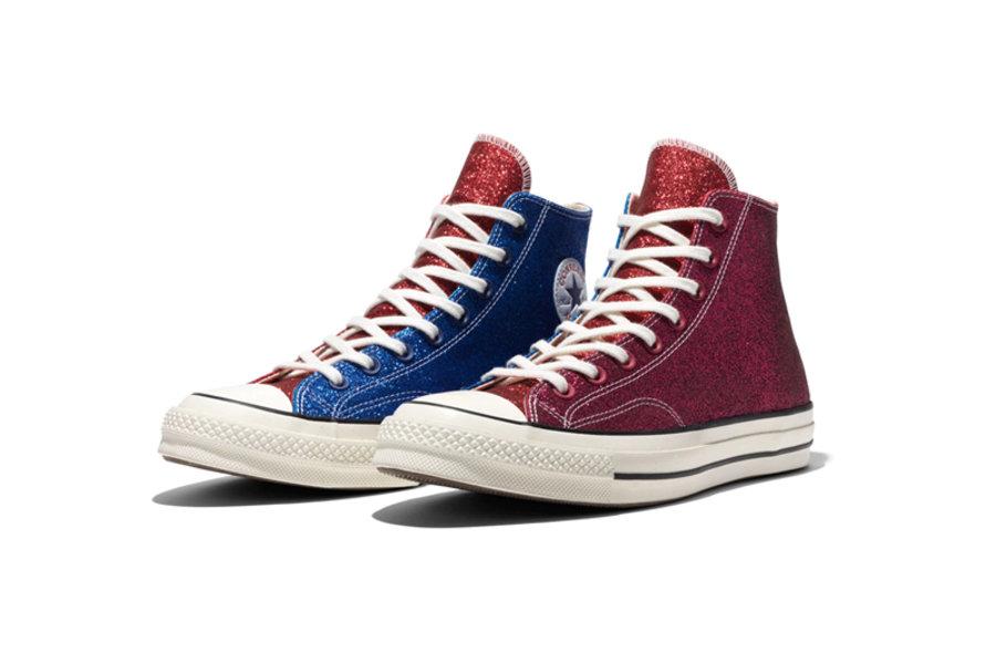 闪烁亮片 鸳鸯拼接!converse X J W Anderson 发售日期公布 球鞋资讯 Flightclub