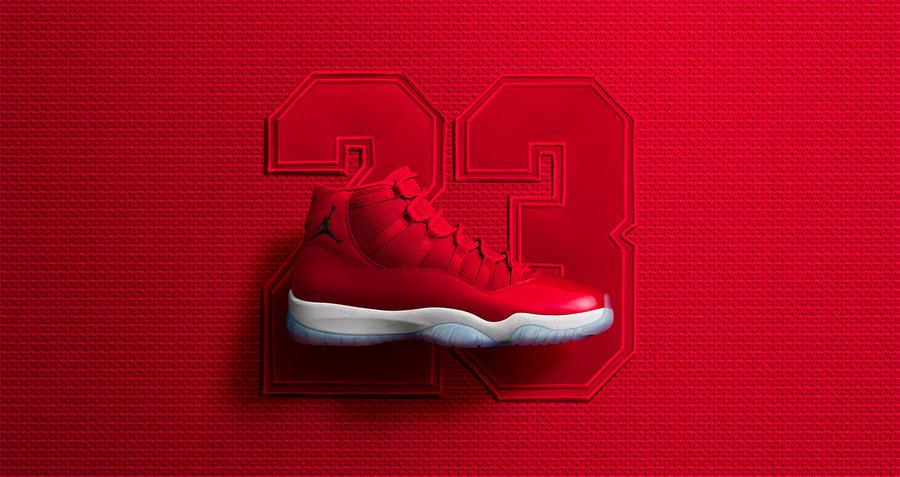 378037-623,AJ11,Air Jordan 11 378037-623AJ11 夺目大红 Air Jordan 11 正式发售!看看各式各样的上脚美拍吧!