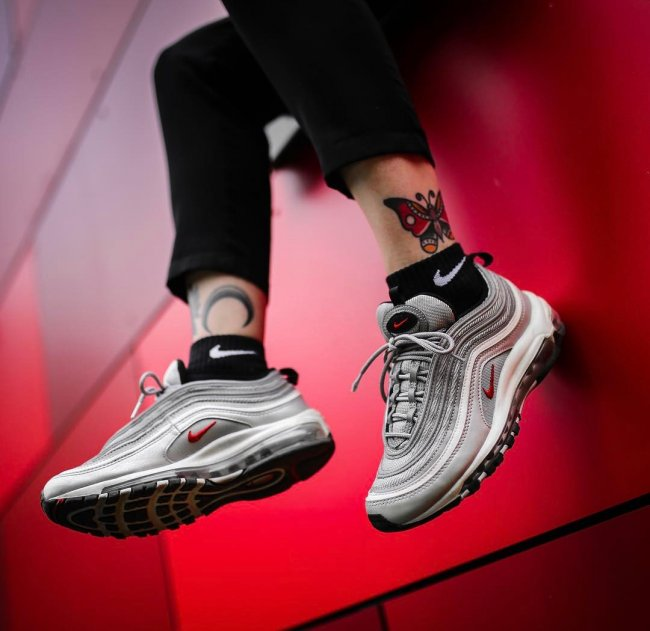 Nike,Air Max 97,银子弹,Silver Bul  市价破 3 千!银子弹 Air Max 97 明年再度复刻!