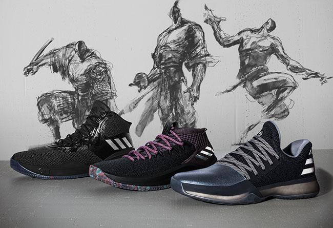 "Dame 4,Harden Vol.1,D Rose 8,C  诚意十足!adidas Basketball 新年别注 ""CNY"" 系列正式发布!"