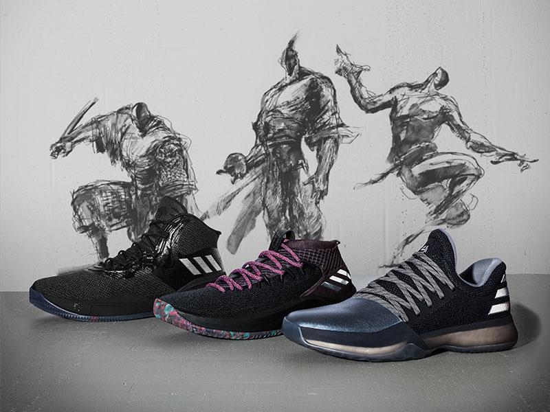 adidas,D Rose 8,Dame 4,Crazy E  中国年系列竟然没有红色?却是最走心的一次!