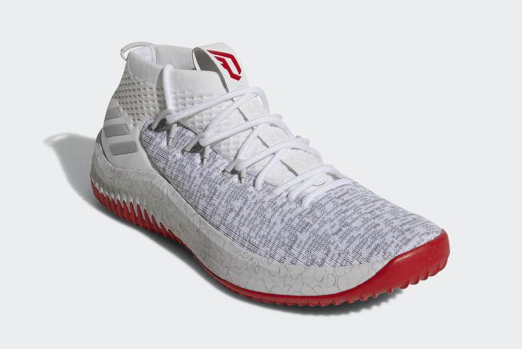 adidas,Dame 4,CQ0471,CQ0477  黑白双煞细节突出!两双全新 Dame 4 本周发售