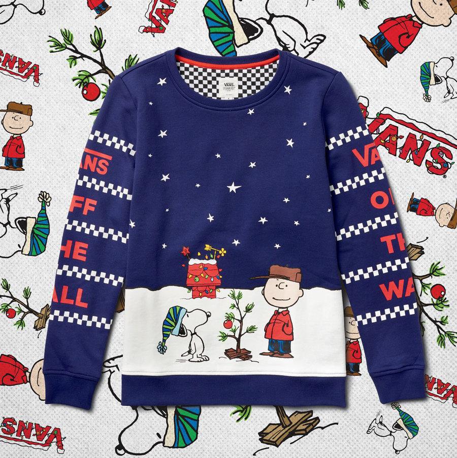 VANS,PEANUTS,Slip-On  可爱又喜庆的圣诞联名!VANS x PEANUTS 国内官网现已上架!