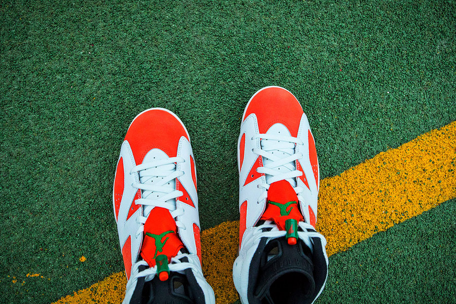 AJ6,Air Jordan 6  小编提前开箱 Air Jordan 6 佳得乐!个性、张扬你真的要入手!