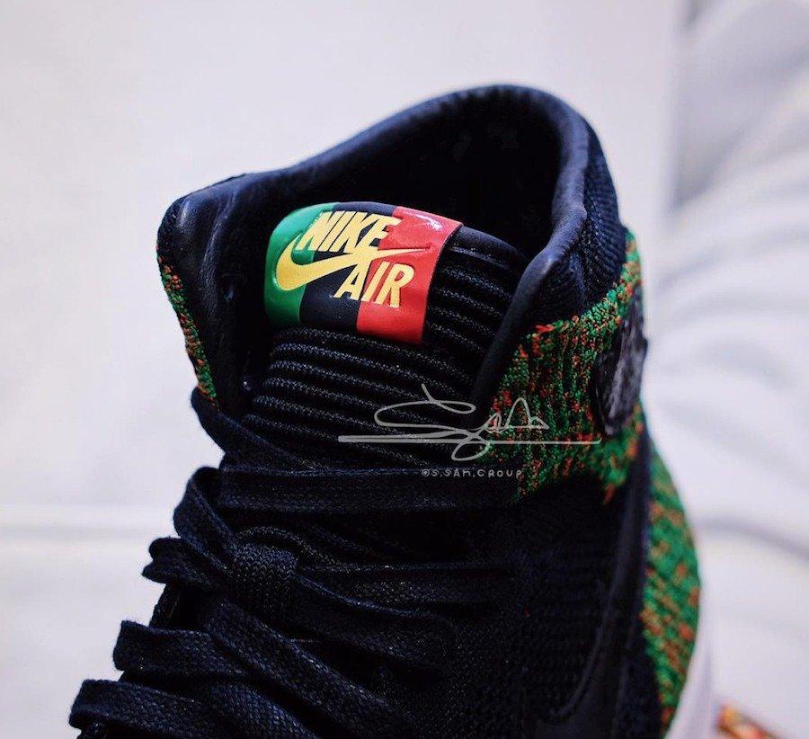 AJ1,Air Jordan 1,AA2426-026  明年二月发售!黑人月配色 AJ1 Flyknit 实物美图欣赏