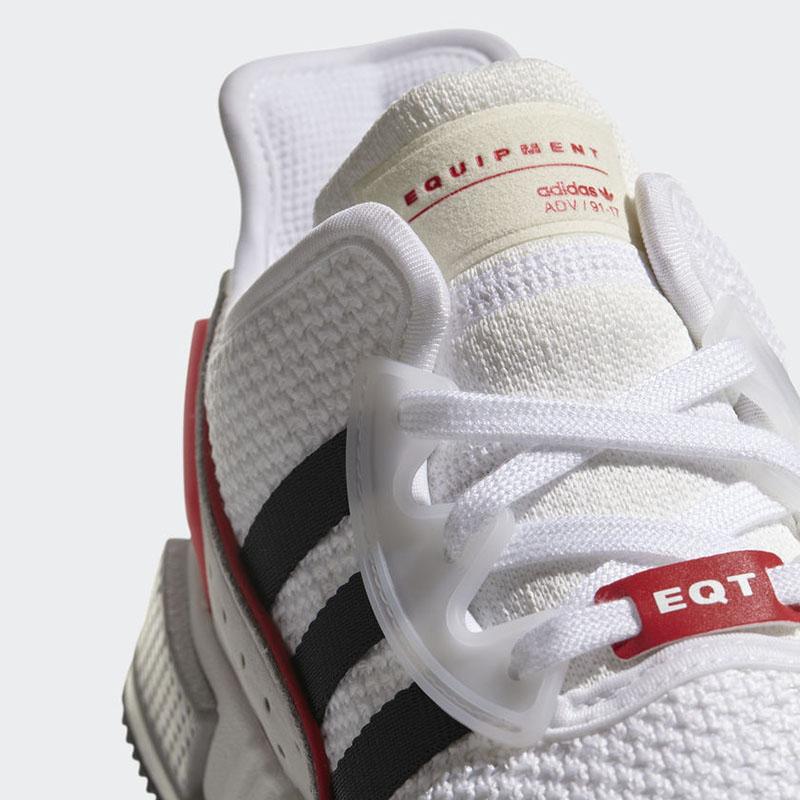 "adidas,EQT Cushion ADV  这个具备横扫街头素质的""小白鞋"",迎来人气白粉配色登场!"