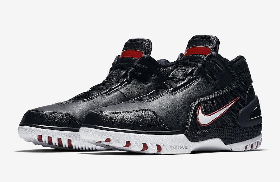 AJ4204-001,AZG,Nike AJ4204-001 发售日期确定!黑白红 Nike Air Zoom Generation 下周上架