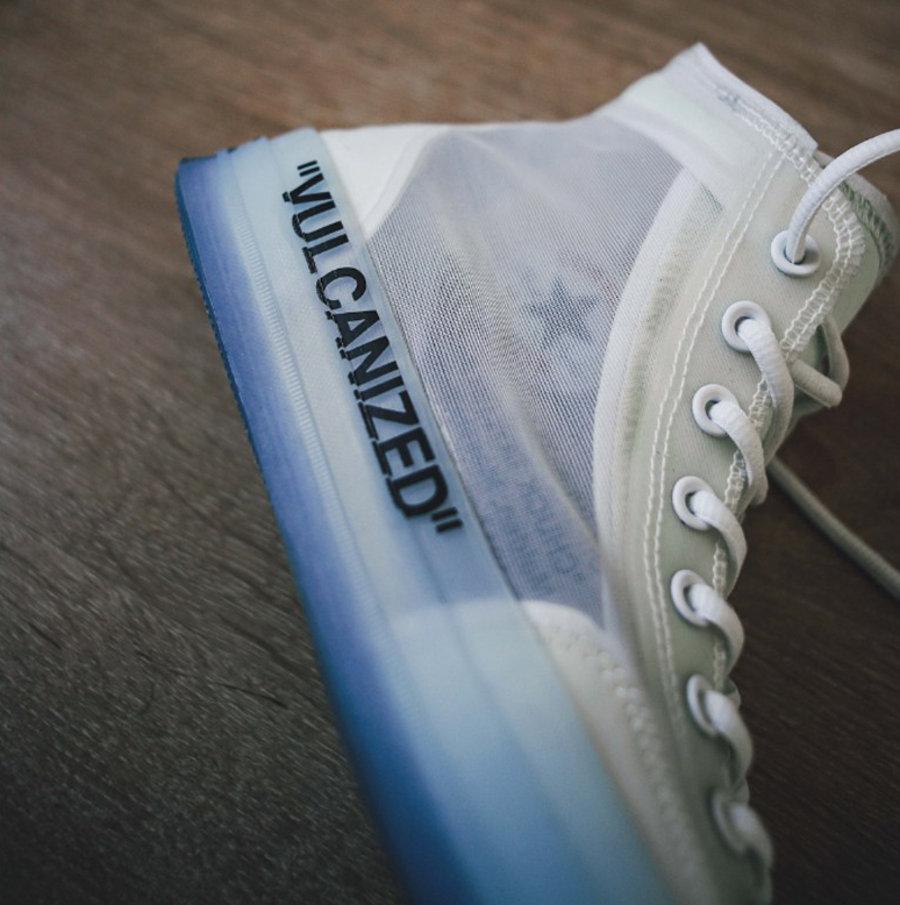 OFF-WHITE,Converse  独树一帜的设计风格!OFF-WHITE x Converse 细节欣赏