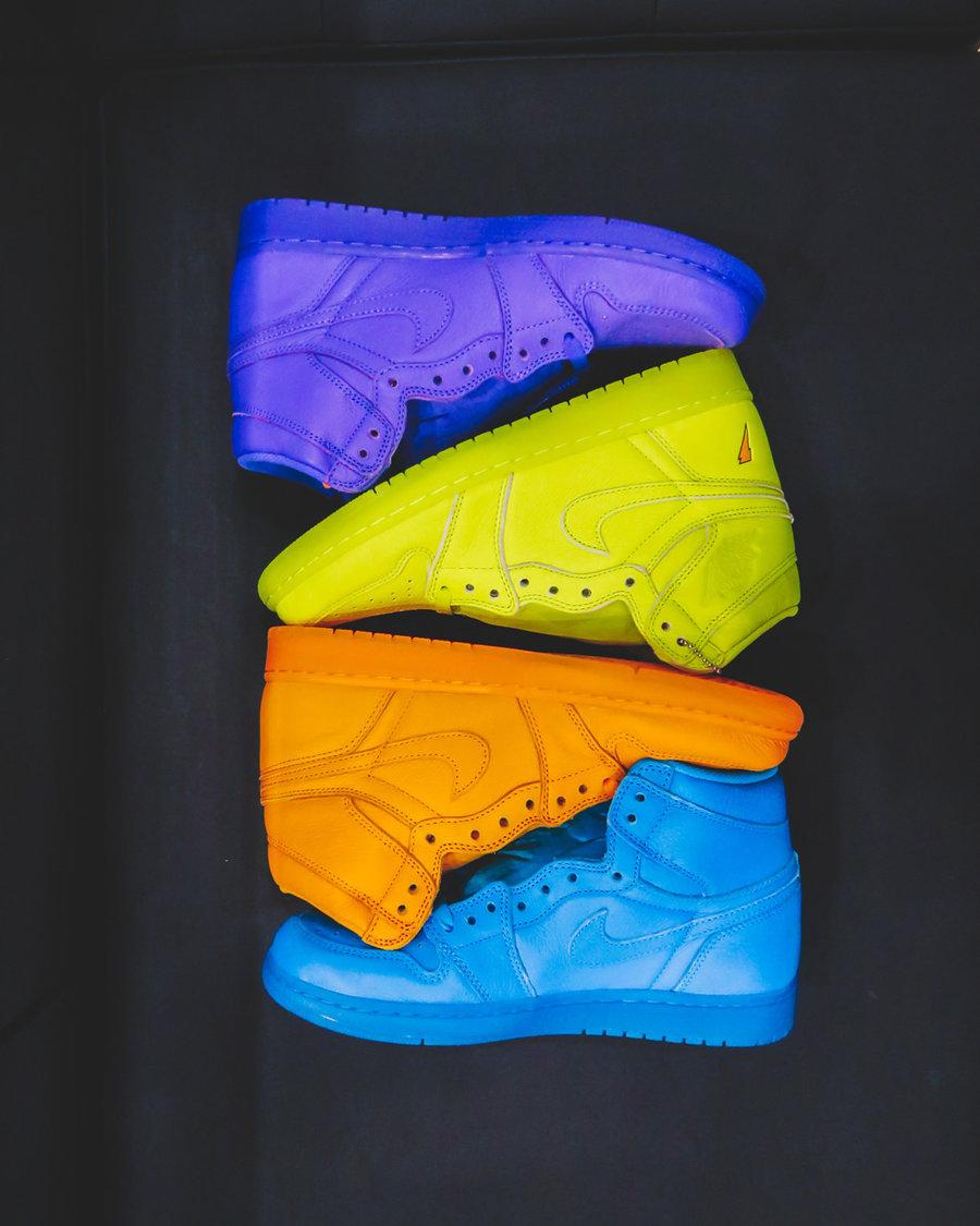 AJ1,Air Jordan 1,AJ5997-880,AJ  四款配色齐曝光!你会选择哪一双 Gatorade x Air Jordan 1 ?