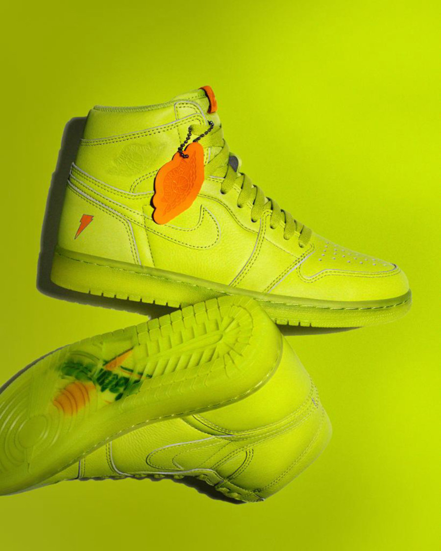 Jordan Brand,AJ1,AJ6,AJ5997-88  五彩缤纷!多款佳得乐主题 Air Jordan 1 & 6 发售日期确定