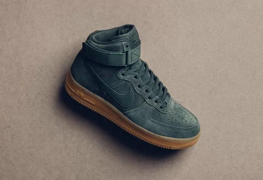 """Air Force 1,Vintage Green,Nike  迷人的绿生胶装扮!Air Force 1 """"Vintage Green"""" 现已发售"""