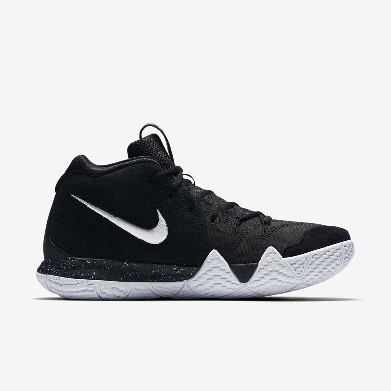 Nike,Kyrie 4  实战性能全面升级!经典黑白配色 Kyrie 4现已登陆官网