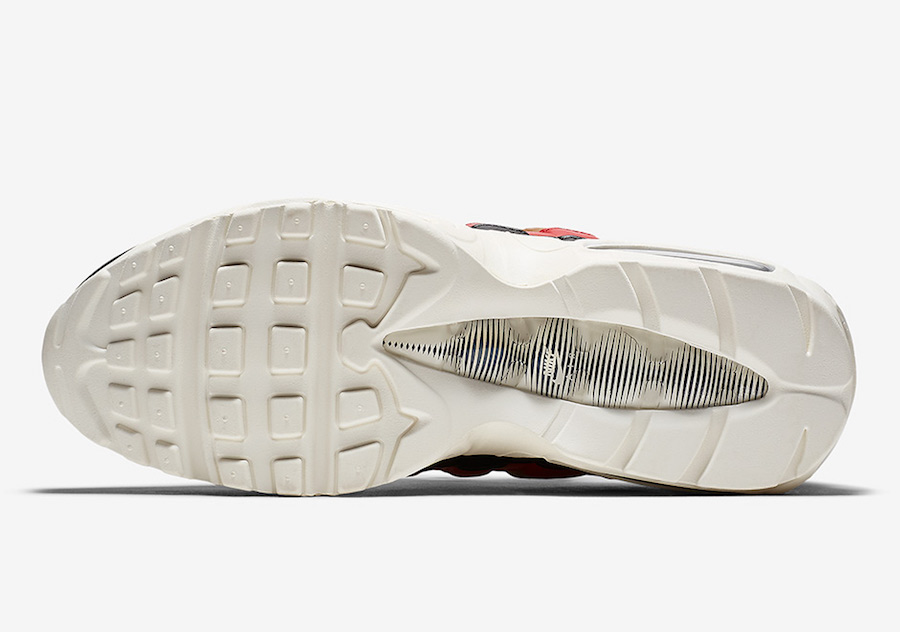 Nike,Air Max 95  串标设计!街头风格的 Air Max 95 本月底发售!