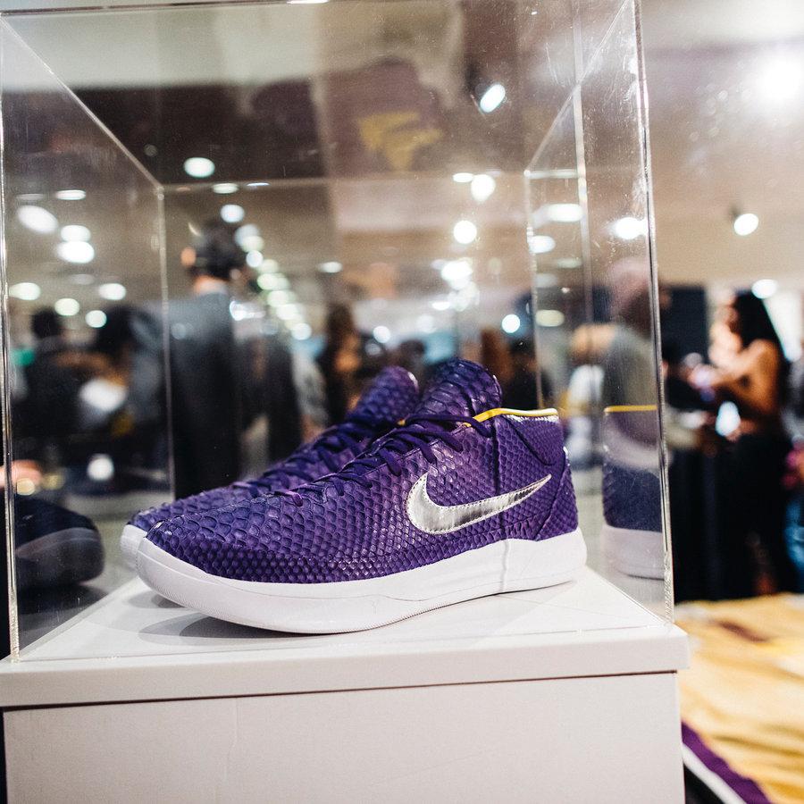 Nike,Kobe AD Mid  紫金配色!仅一双的 Kobe AD Mid 美不美?