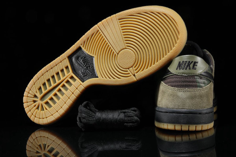 """Dunk SB Low,Camo,Nike  军事范十足!迷彩装扮 Dunk SB Low """"Camo"""" 现已发售"""